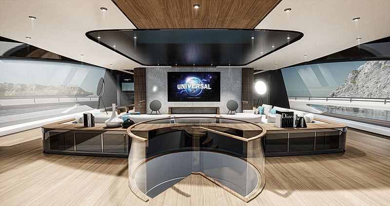 Concept Sunrise yacht interior design