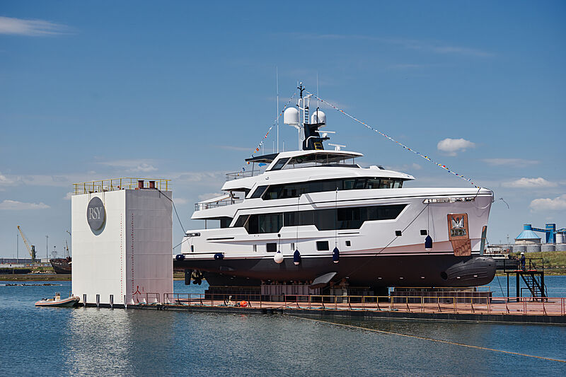 Emocean yacht launch in Ravenna