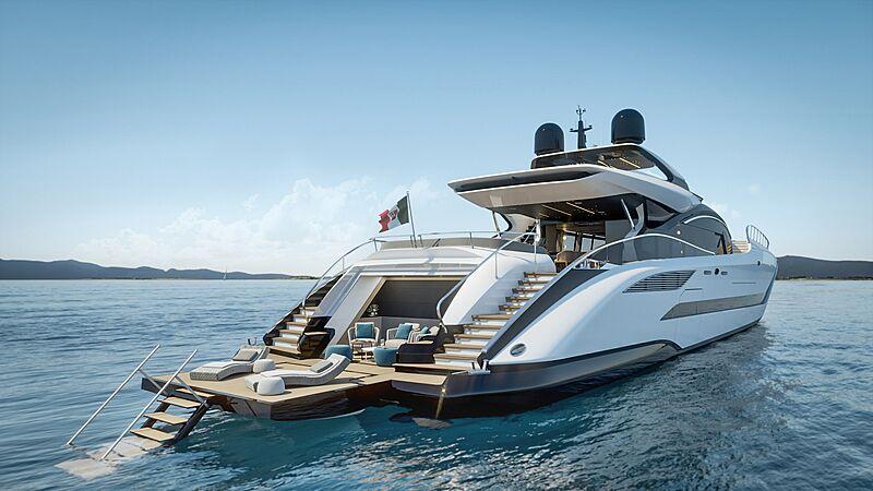 Mangusta 165 REV yacht design