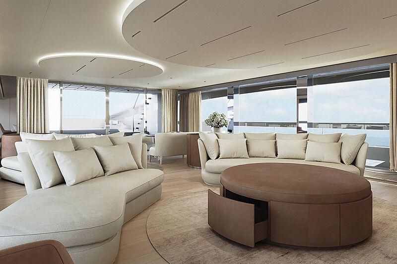 Ocean King Doge 400 yacht interior design