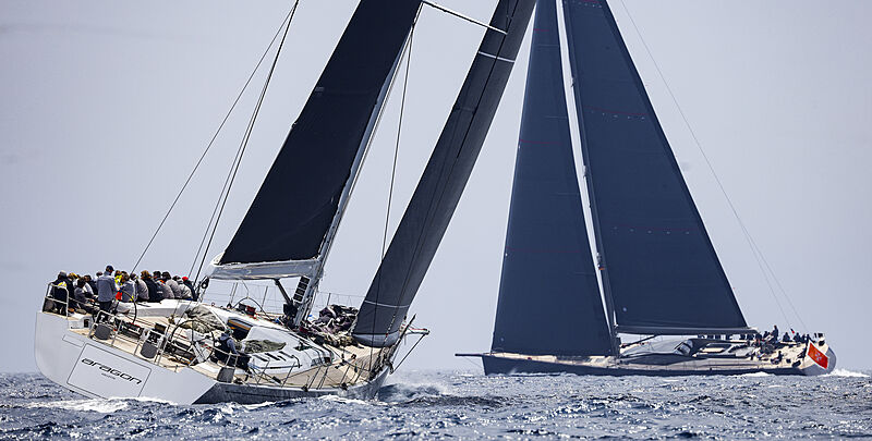 Loro Piana Regatta 2021 yachts racing