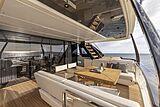 Ferretti 1000 yacht  aft deck