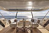 Epic yacht sun deck