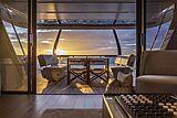Epic yacht aft deck