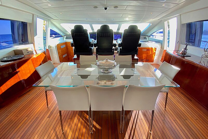 Splendida yacht saloon