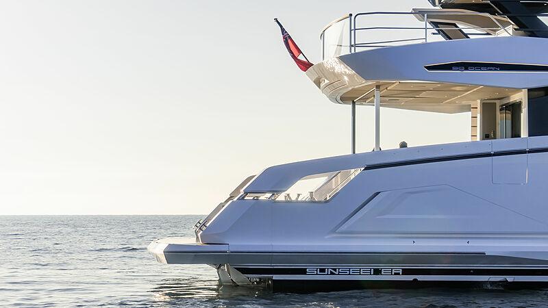 Sunseeker 90 Ocean yacht exterior