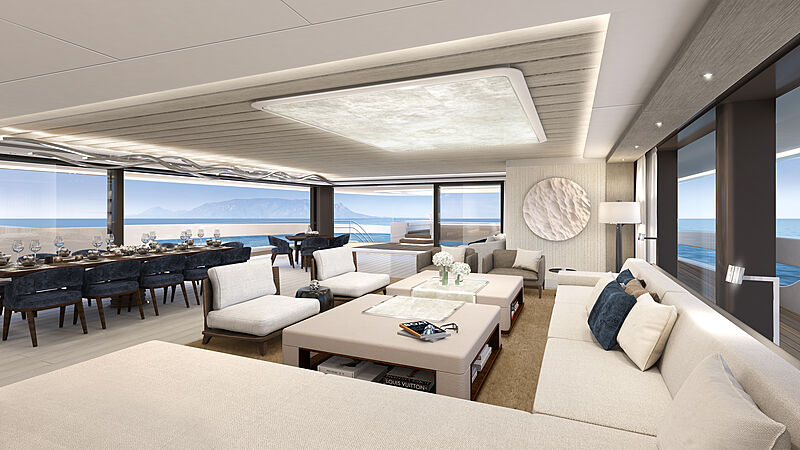 Project Atlas yacht interior design