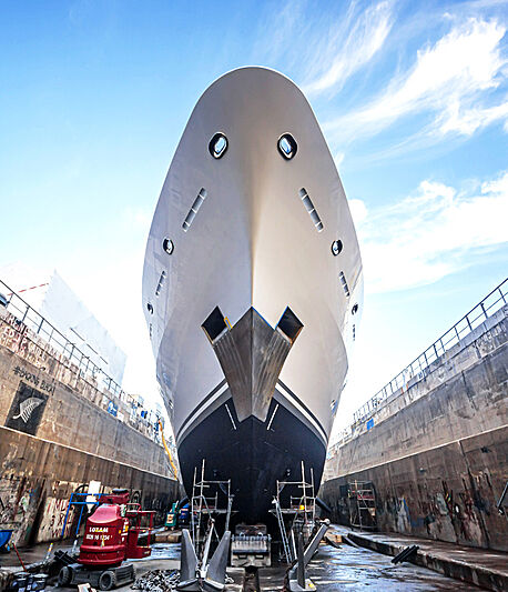 Titania yacht refit