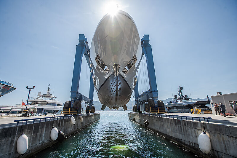 Lion yacht launched