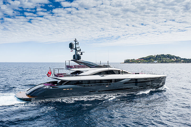 Flying Dagger yacht by Rossinavi in Beaulieu-sur-Mer