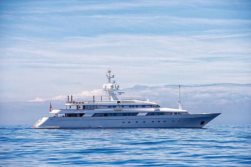 Sokar yacht anchored