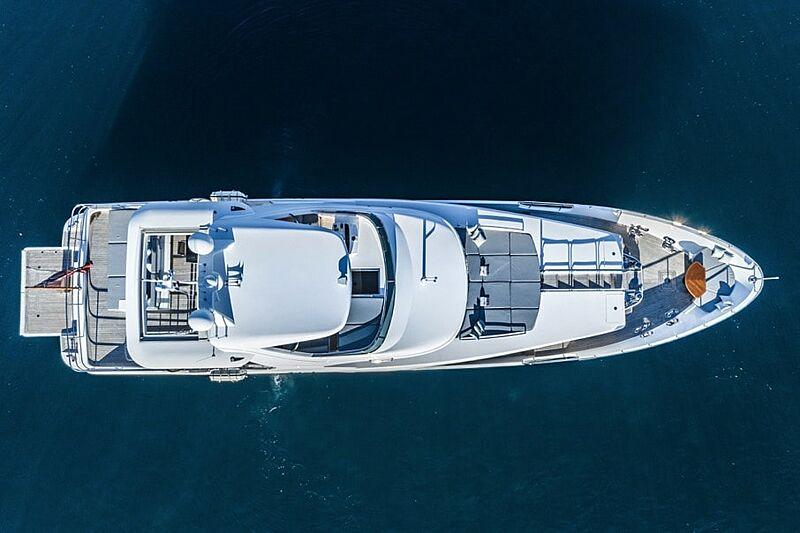 Adel yacht aerial