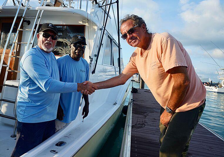 Walker's Cay owner Carl Allen
