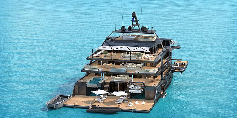 Triexplorer yacht concept MP Yacht Design