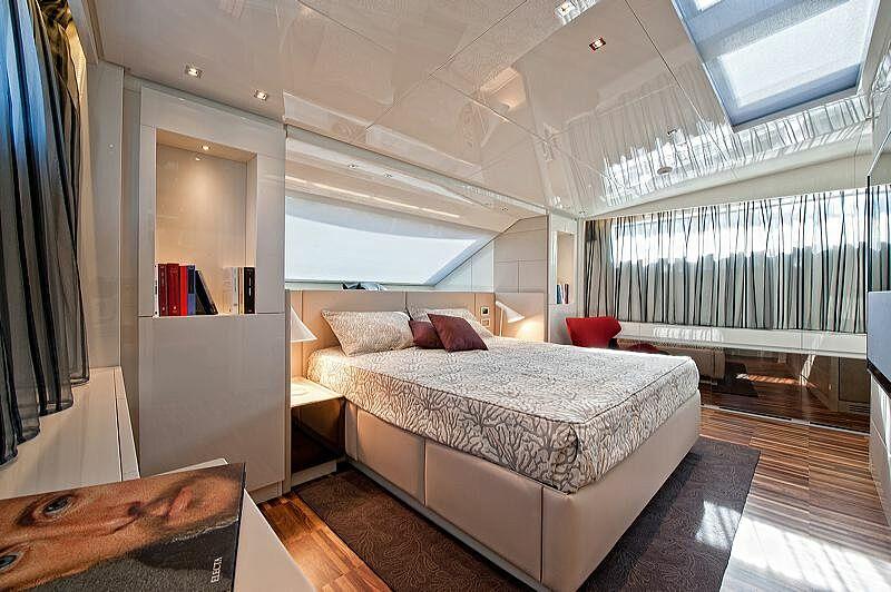Rebessa yacht master stateroom