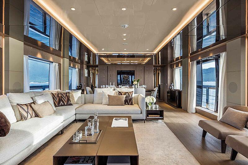 Falcon CA yacht interior