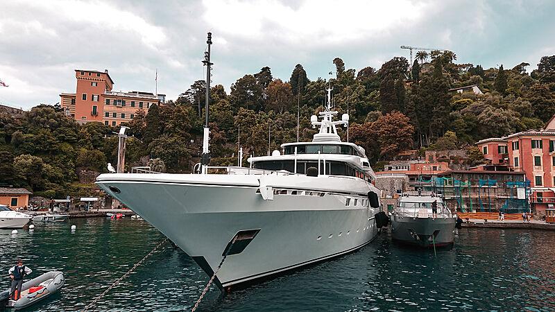 Moneikos yacht by Codecasa in Portofino