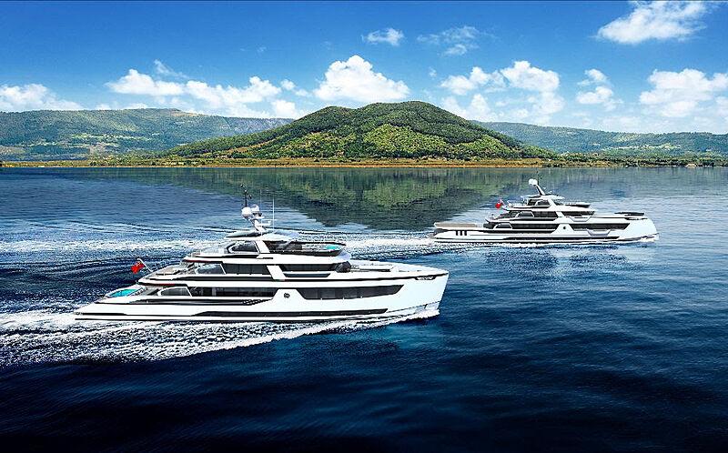 Dynamiq Global 450 yacht range