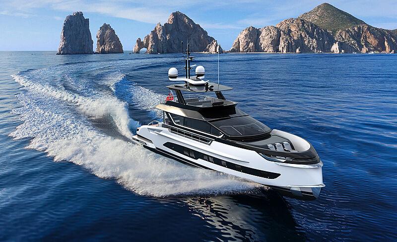Dynamiq GTM 90 yacht