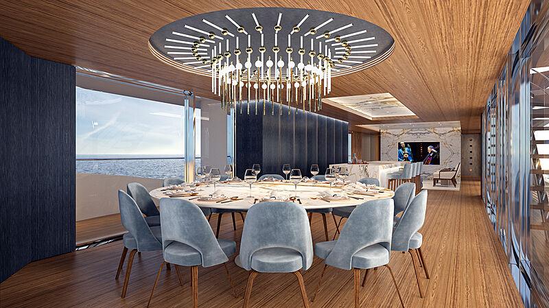 Dynamiq GTT 160 yacht interior