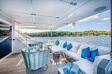 Good year yacht aft deck