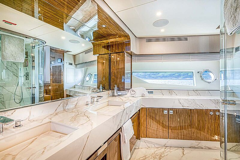 Good year yacht bathroom