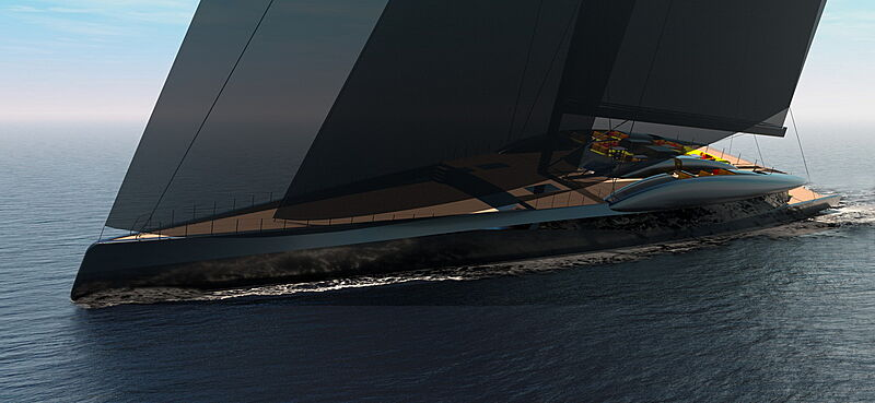 Project Fury sailing yacht concept
