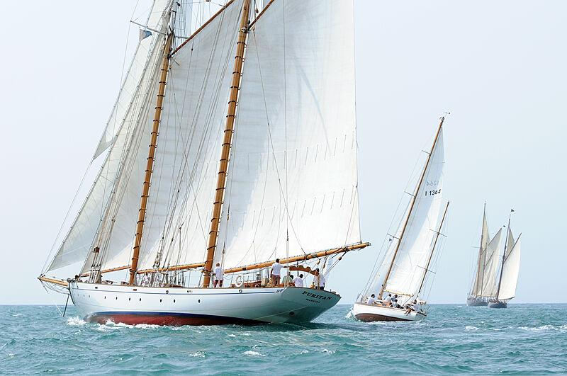 Puritan yacht