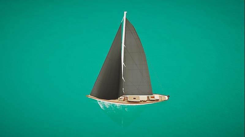 SYT 3D - Rainbow II yacht