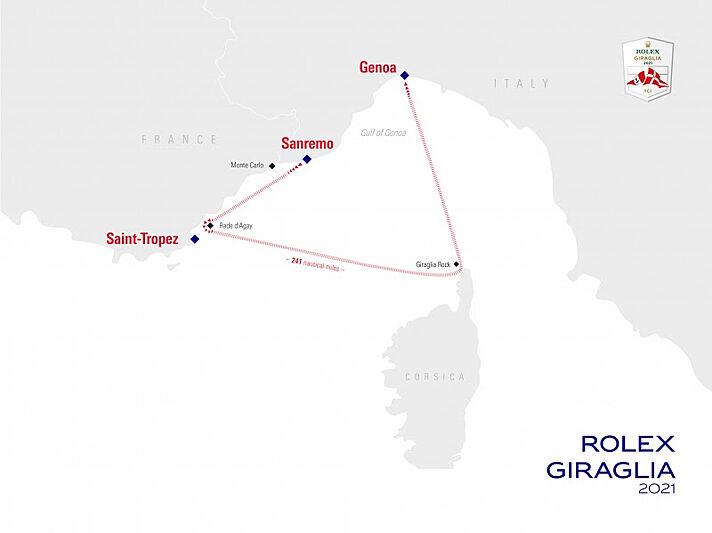 Rolex Giraglia Regatta 2021