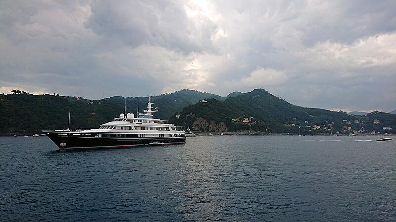 Virginian yacht by Feadship in Portofino