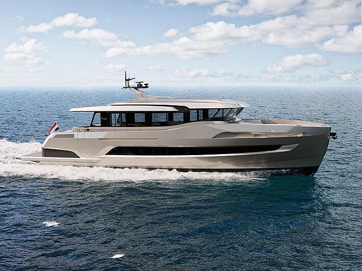 X-treme 78 Sport yacht exterior design
