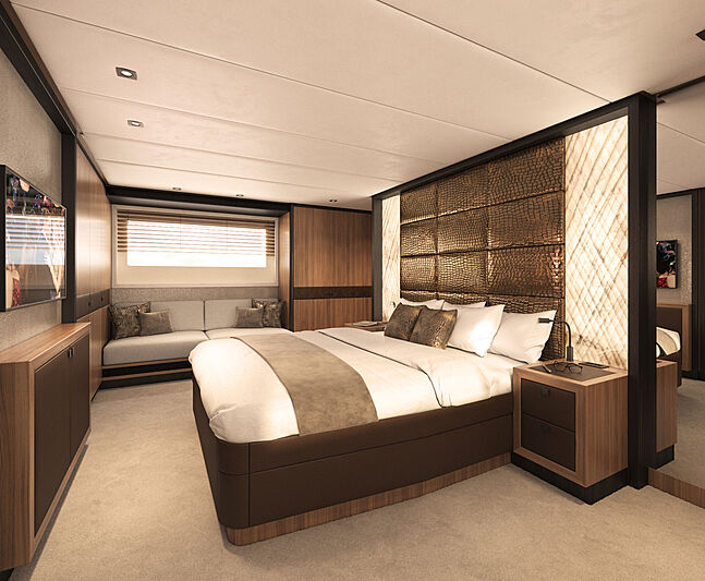 X-treme 78 Sport yacht stateroom