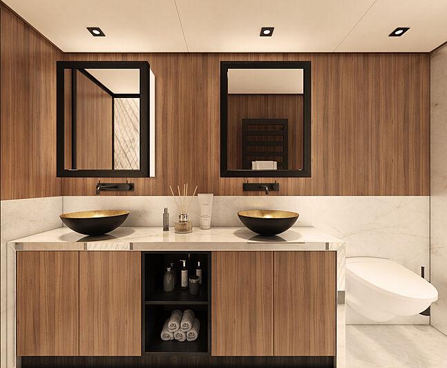 X-treme 78 Sport yacht bathroom