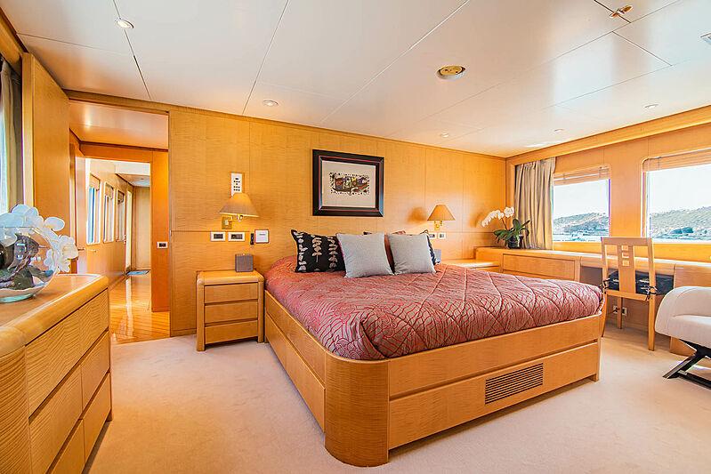 Criss C yacht master stateroom