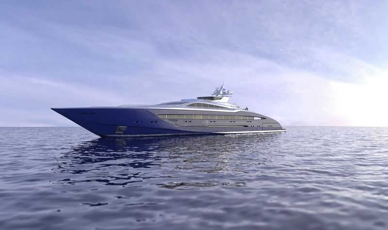 Project Speed 93m superyacht concept