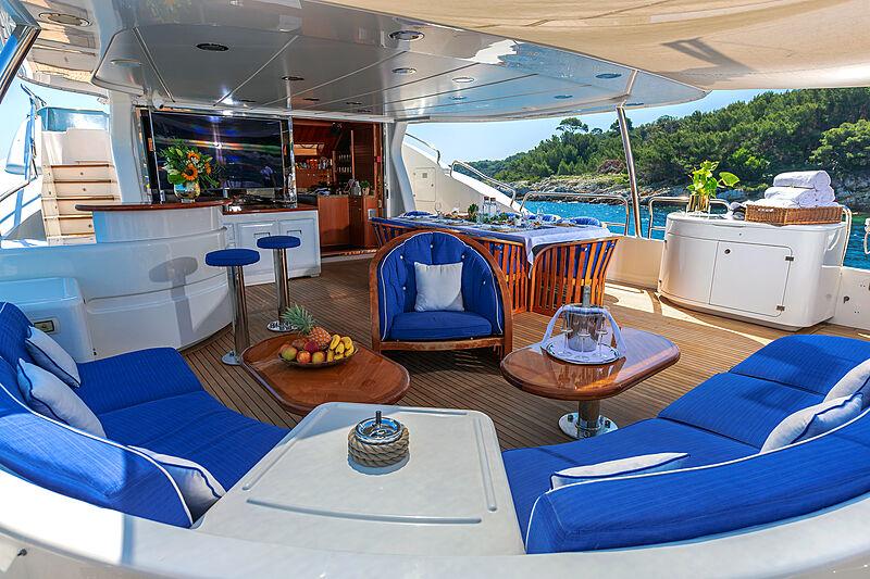 New Star yacht deck