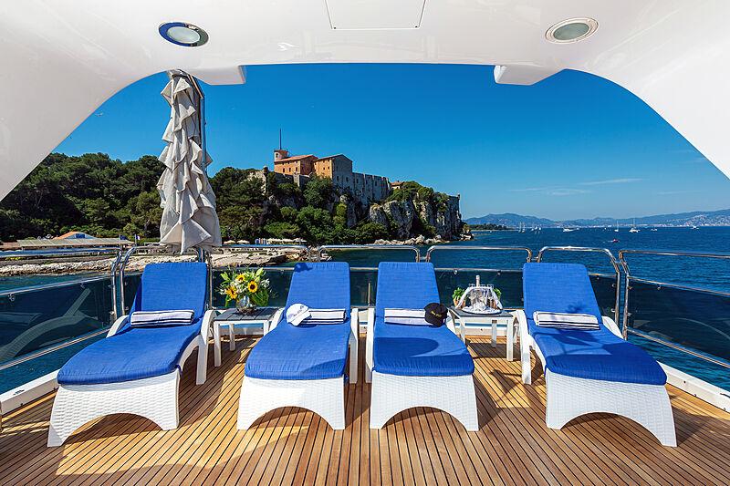 New Star yacht stern