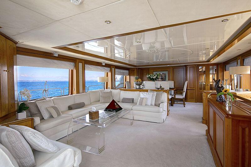 New Star yacht interior