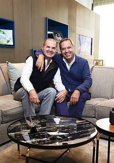 Roberto and Jorge Aboumrad