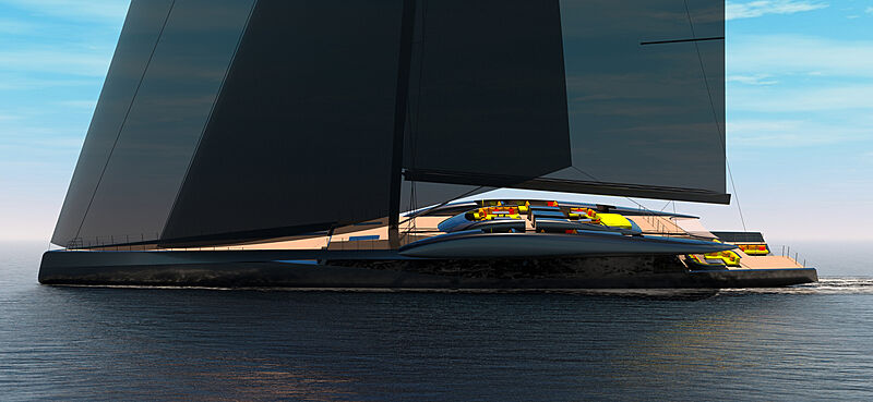 Project Fury yacht concept