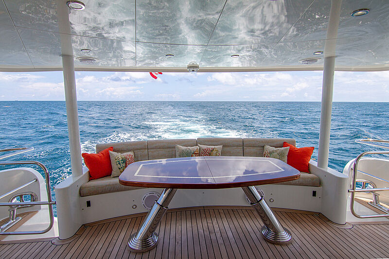 Sound Waves aft deck