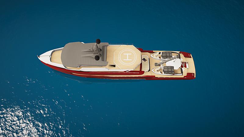 Tomahawk yacht in SYT 3D
