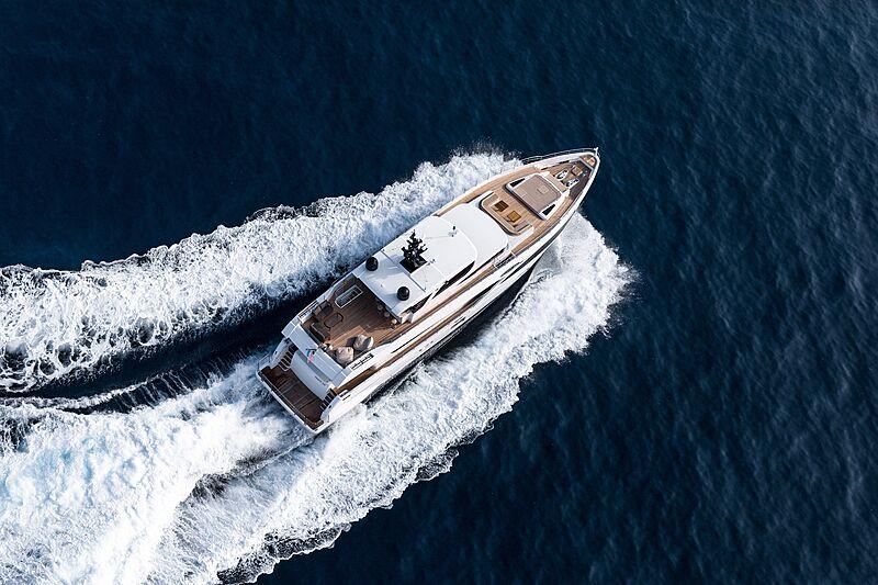 Antenne de croisière yacht Majesty 100
