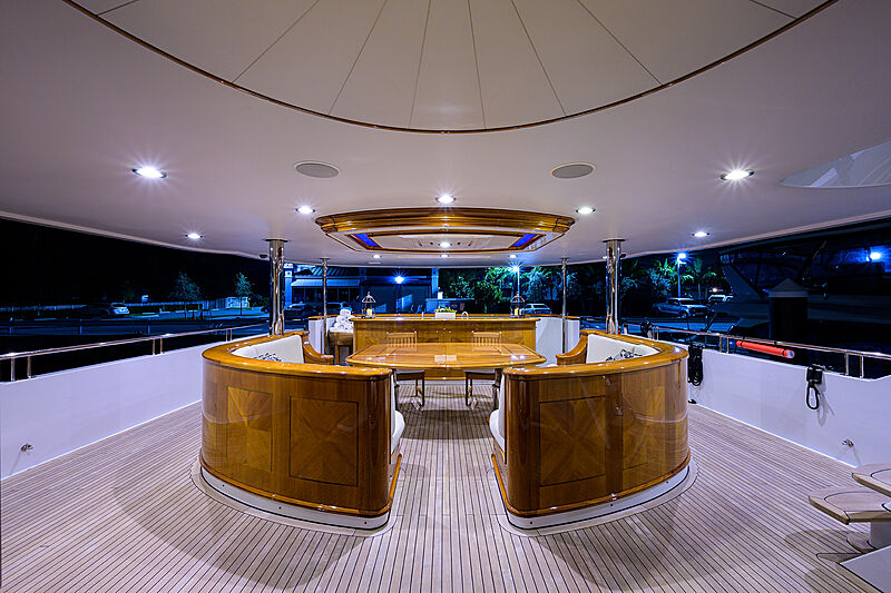 Excellence yacht deck