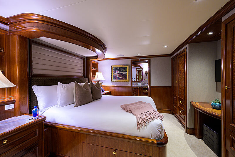 Excellence yacht stateroom