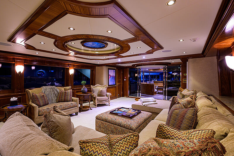 Excellence yacht saloon