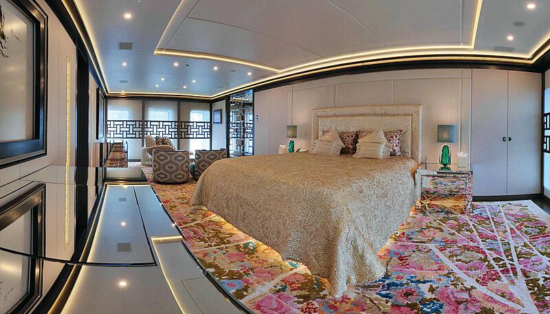 Sapphire yacht stateroom