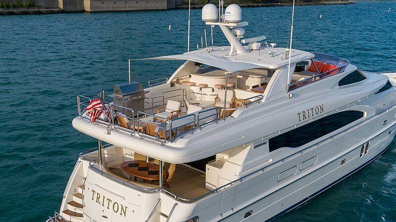 Triton motor yacht