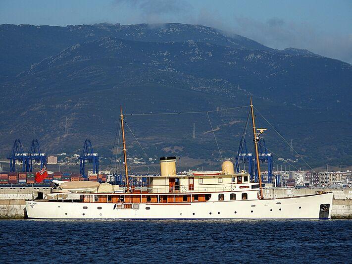 Fair Lady yacht in Gibraltar